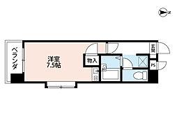 福岡県北九州市八幡西区中須2丁目の賃貸マンションの間取り