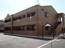 佐賀県三養基郡基山町大字小倉の賃貸アパートの外観