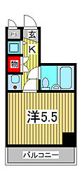 ジョイフル西川口第2[305号室]の間取り