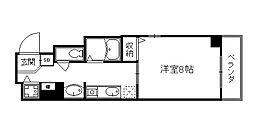 THEBASE四条大宮[2階]の間取り