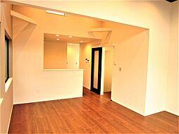 2台駐車可能・ルーフバルコニーのある家 3SLDKの居間