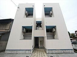 愛知県名古屋市中川区外新町4丁目の賃貸アパートの外観
