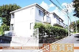 愛知県名古屋市瑞穂区彌富町字清水ケ岡の賃貸アパートの外観