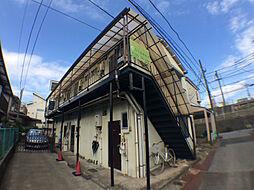 千葉県柏市旭町2丁目の賃貸アパートの外観