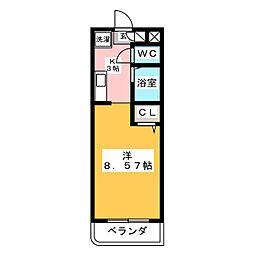 マンション日吉昭和[3階]の間取り