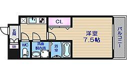 サムティ中之島WEST[4階]の間取り