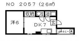 西田辺駅 3.4万円