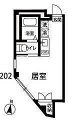 東京都練馬区石神井台7丁目の賃貸マンションの間取り