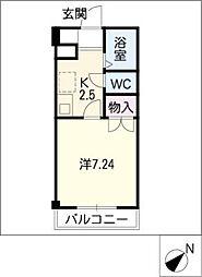 TKハイツI[2階]の間取り