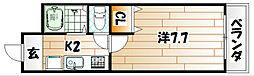 ボヌール相島[1階]の間取り