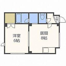 メゾン麻生[2階]の間取り