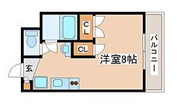 プレアール西神戸[304号室]の間取り