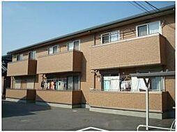 愛知県安城市赤松町新屋敷の賃貸アパートの外観