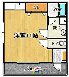新田代アパート[1階]の間取り