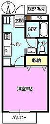 長野県長野市川中島町今井の賃貸アパートの間取り