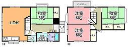 [一戸建] 茨城県水戸市元吉田町 の賃貸【茨城県/水戸市】の間取り