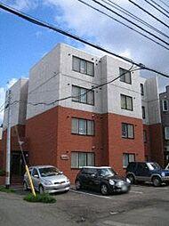 北海道札幌市西区西野一条2丁目の賃貸マンションの外観