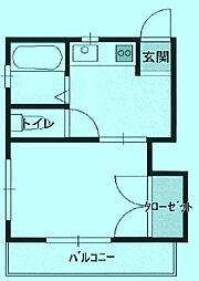 ブルーハイツ[2階]の間取り