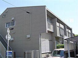 京都府城陽市富野高井の賃貸アパートの外観