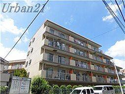 神奈川県横浜市港北区綱島西4の賃貸マンションの外観