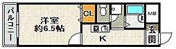 エンリッチパール[5階]の間取り