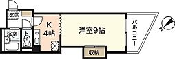 PRES七軒茶屋[2階]の間取り