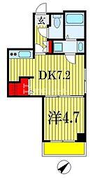 Vermilion(ヴァーミリオン) 6階1DKの間取り