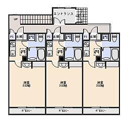 Casa Gratis[4階]の間取り