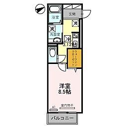 (仮称)D-room 牧野下島町[2階]の間取り