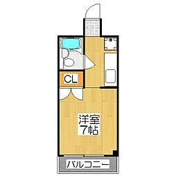 MIBUL30[503号室]の間取り