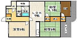 大翔第一ビル[3階]の間取り
