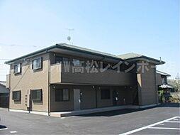 香川県高松市新田町の賃貸マンションの外観