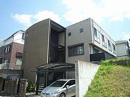 神奈川県川崎市多摩区三田3丁目の賃貸アパートの外観