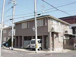 大阪府大阪市東淀川区淡路5丁目の賃貸アパートの外観