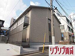 千葉県千葉市中央区新田町の賃貸アパートの外観