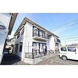 埼玉県川越市笠幡の賃貸アパートの外観