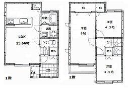 [一戸建] 大阪府和泉市伏屋町2丁目 の賃貸【/】の間取り