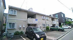 静岡県静岡市葵区安東2丁目の賃貸アパートの外観