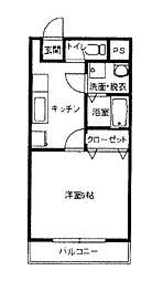 ロイヤルマンション[303号室]の間取り