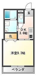 仮称 古市4丁目新築マンション[1階]の間取り