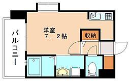 S-FORT高宮[2階]の間取り