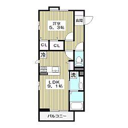 高島平1丁目68新築(未定)[2階]の間取り