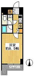 ルーブル亀戸[704号室]の間取り