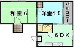 アオイ第一ビル[4階]の間取り