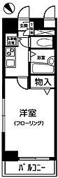 東京都練馬区中村北3丁目の賃貸マンションの間取り