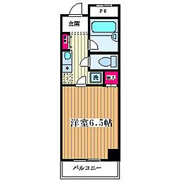 エールマンション[206号室]の間取り