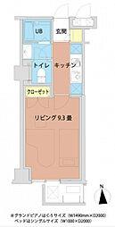 新百合和田分ビル[603号室]の間取り
