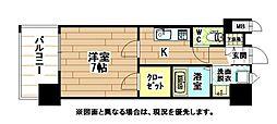ギャラン陣原[7階]の間取り
