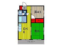 メゾンミヨ[3階]の間取り