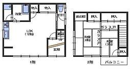 [一戸建] 広島県呉市阿賀中央3丁目 の賃貸【/】の間取り